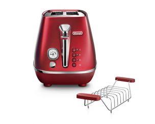 Distinta Flair Glamour Red 2-Slice Toaster