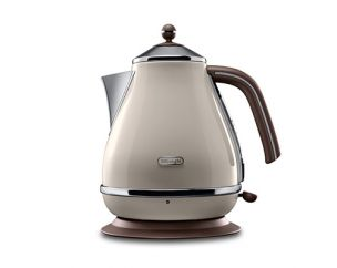 Icona Vintage Pastel Cream Kettle 1.7L