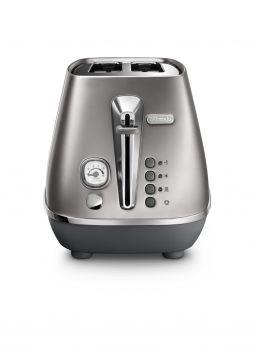 Distinta Flair Finesse Silver 2-Slice Toaster
