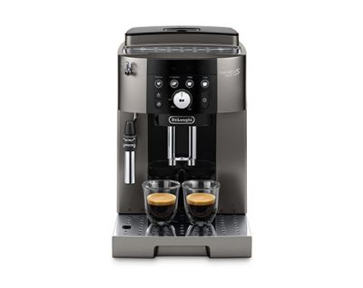 delonghi fully automated coffee machine magnifica s smart ecam.250.33.tb front view