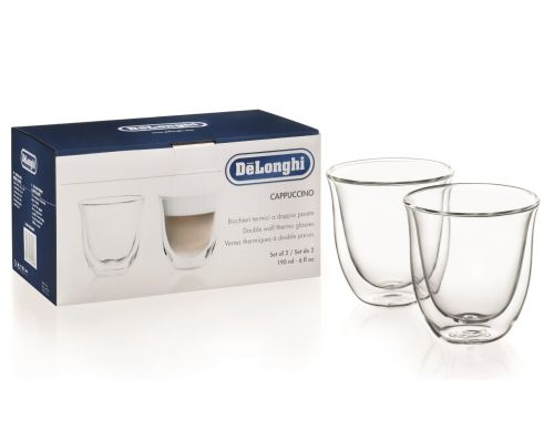 Cappuccino Double Wall Thermal Glasses