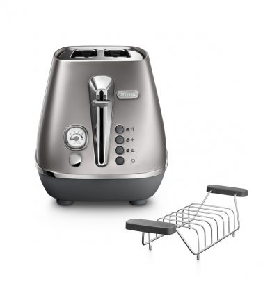 Distinta Flair Finesse Silver 2-Slice Toaster