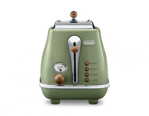 Icona Vintage 2-Slice Toaster With Lid thumbnail