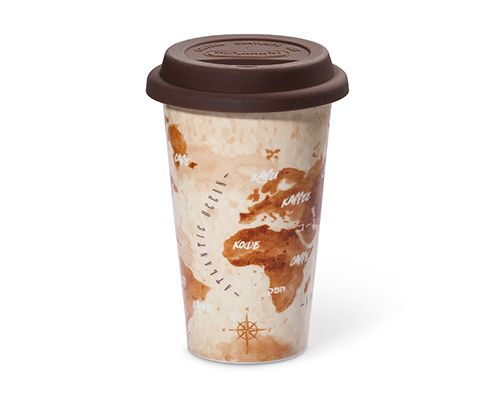 The Adventurer Double-walled Ceramic Cup 300ml DLSC056 thumbnail