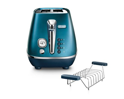 Distinta Flair Prestige Blue 2-Slice Toaster