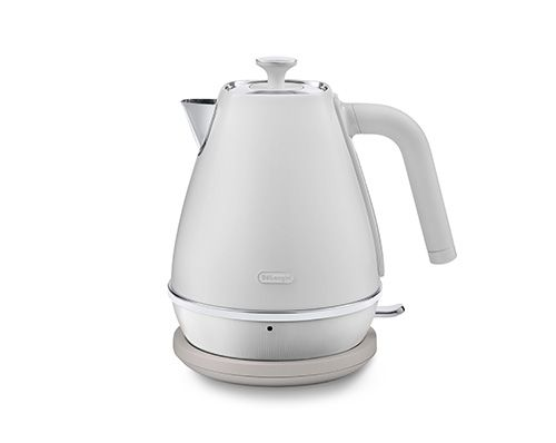 delonghi distinta moments sunshine white kettle 1.7l thumbnail