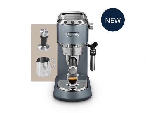 De'Longhi Dedica Metallics (Mesmerising Blue) EC785.AZ Pump espresso coffee machine Thumbnail