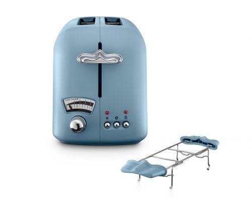 Argento Flora Agave Blue 2-Slice Toaster