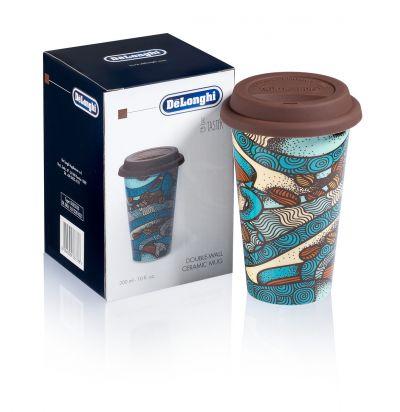 Double-walled Ceramic Mug, The Taster