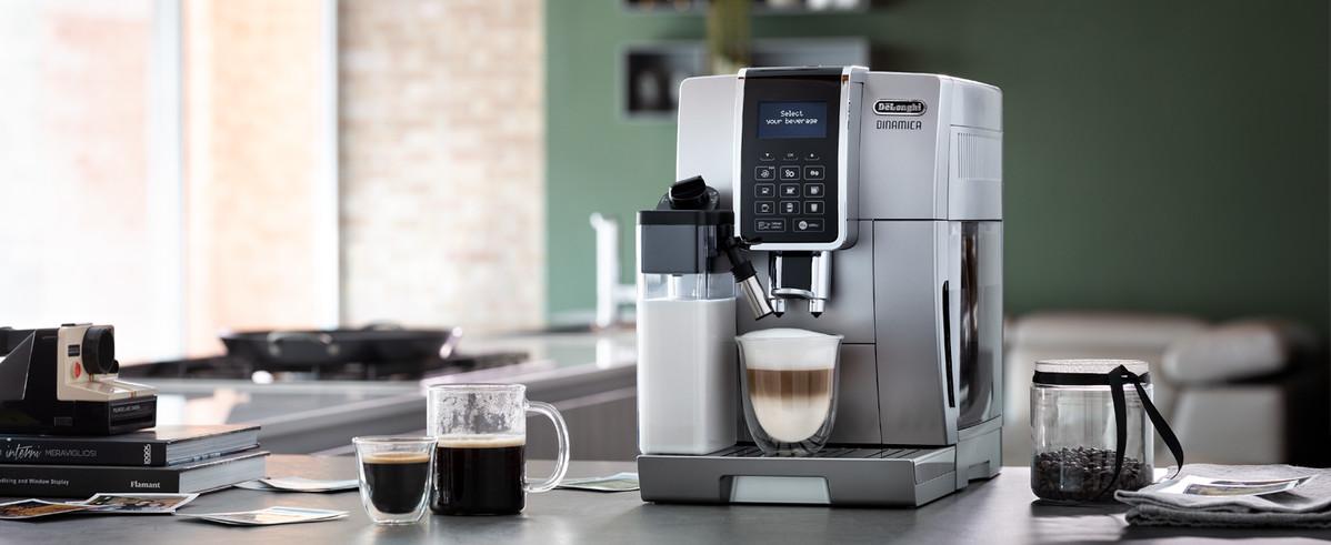 De'Longhi Dinamica-Silver-automatic-coffee-maker