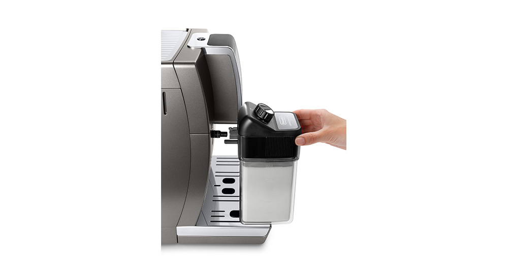 Delonghi Dinamica plus facm ecam370.95.t fully automatic coffee machine thermal milk carafe