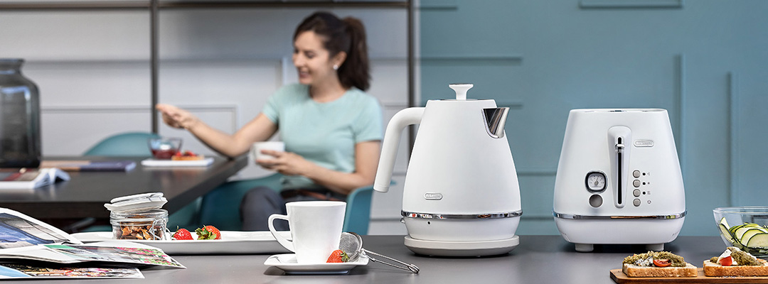 delonghi kettles category banner