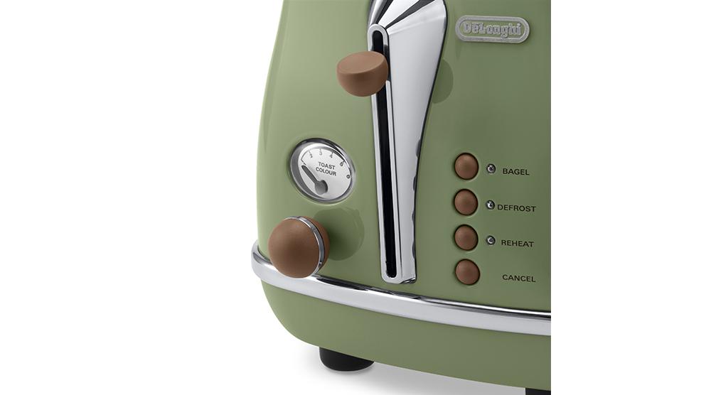 delonghi icona vintage breakfast green features 1