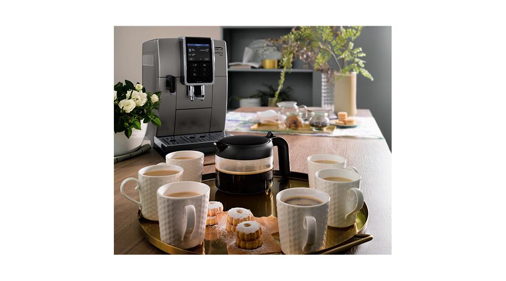 Delonghi coffee machine accessories glass coffee carafe DLSC021 feature 3
