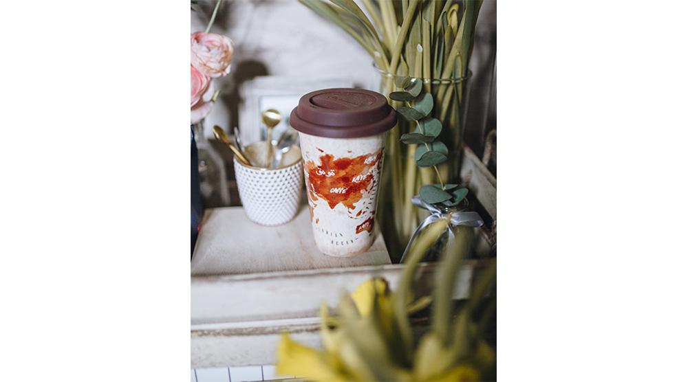 Delonghi coffee machine accessories double wall ceramic cups DLSC056 feature 1