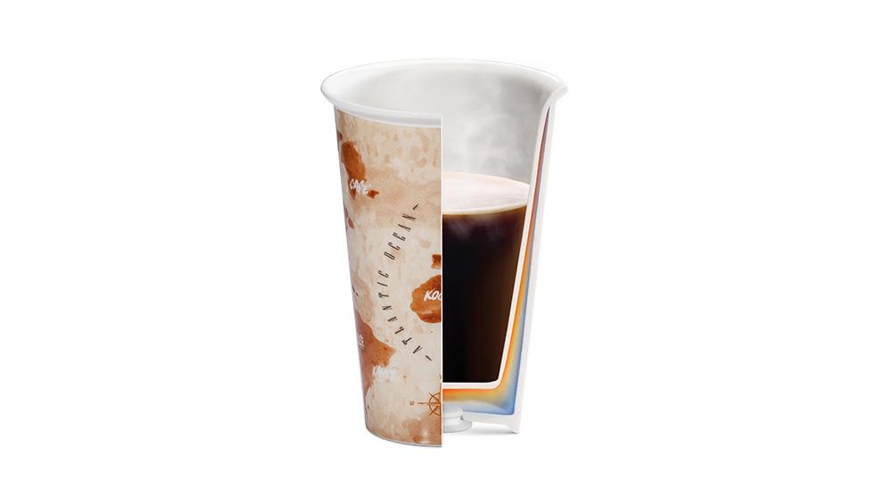 Delonghi coffee machine accessories double wall ceramic cups DLSC056 feature 2