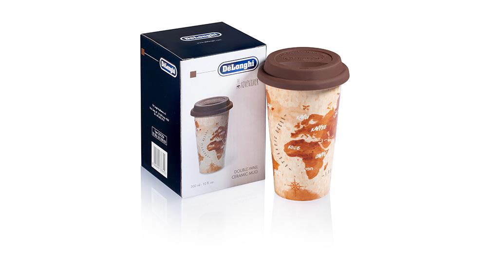Delonghi coffee machine accessories double wall ceramic cups DLSC056 feature 3