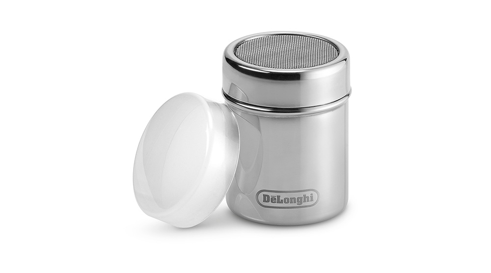 Delonghi coffee machine accessories cocoa powder shaker DLSC3061 feature 2