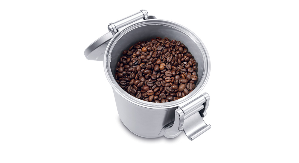 Delonghi coffee machine accessories vacuum sealed coffee beans canister 1.5l DLSC068 feature 1