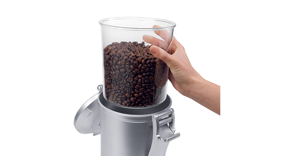 Delonghi coffee machine accessories vacuum sealed coffee beans canister 1.5l DLSC068 feature 3