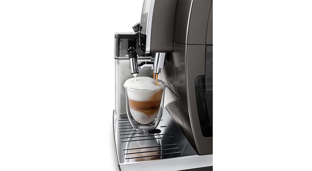Delonghi coffee machine accessories double wall cappuccino glasses DLSC311 feature 1