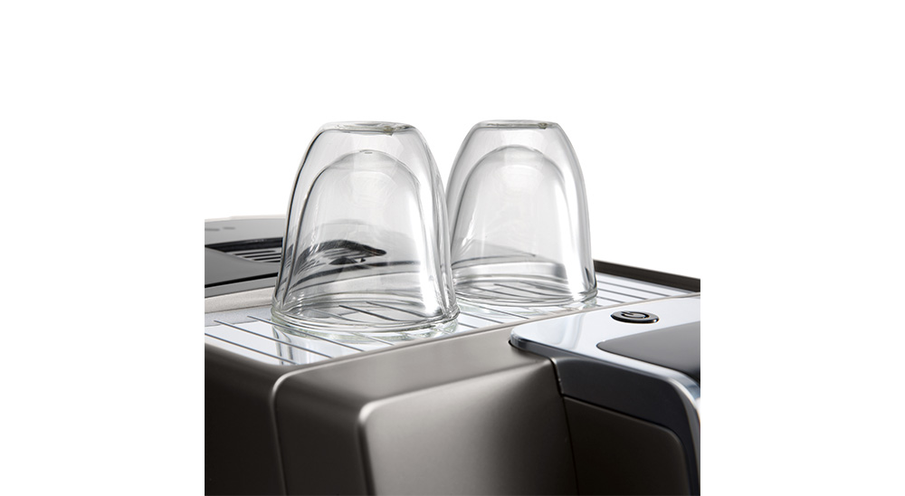 Delonghi coffee machine accessories double wall cappuccino glasses DLSC311 feature 2