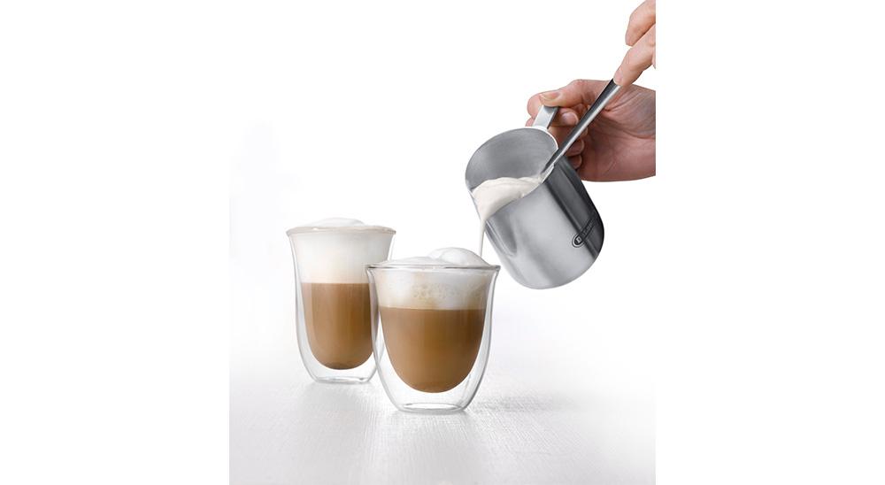 Delonghi coffee machine accessories double wall latte macchiato glasses DLSC312 feature 2