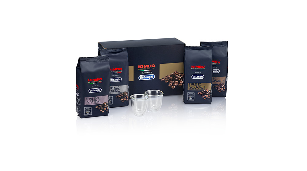 delonghi coffee accessories kimbo espresso coffee beans gourmet DLSC608 feature 3