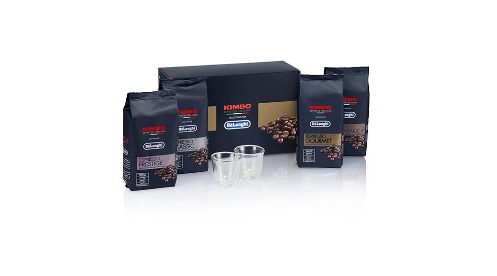 delonghi coffee accessories kimbo espresso coffee beans prestige DLSC614 feature 3