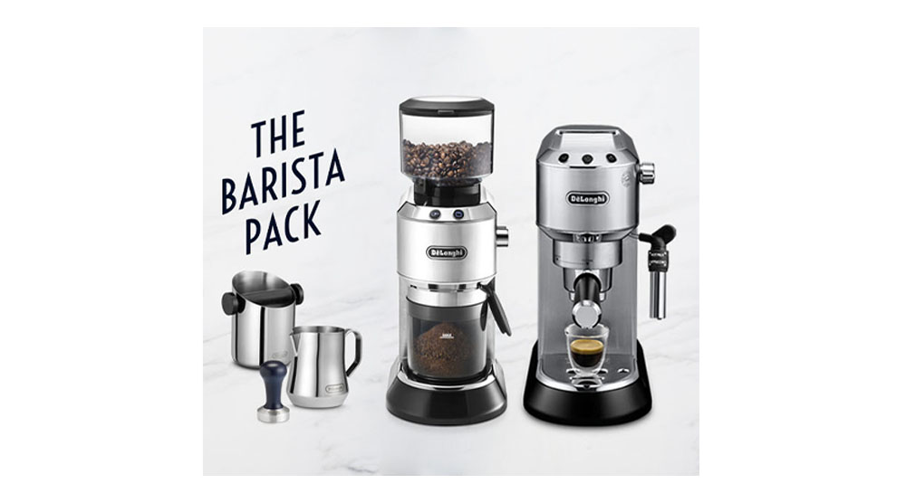 Delonghi dedica style charismatic black pump coffee machine ec685.bk features 13