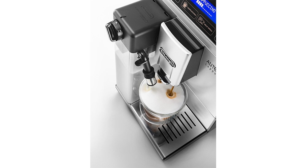 delonghi fully automatic coffee machine autentica cappuccino lattecrema system