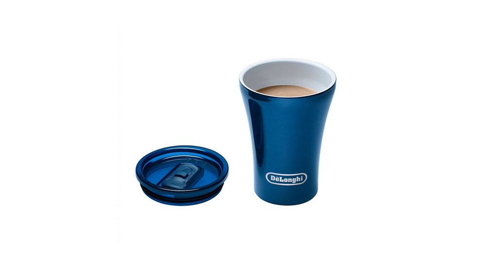 Delonghi coffee machine accessories sttoke ceramic reusable cup mug feature 2