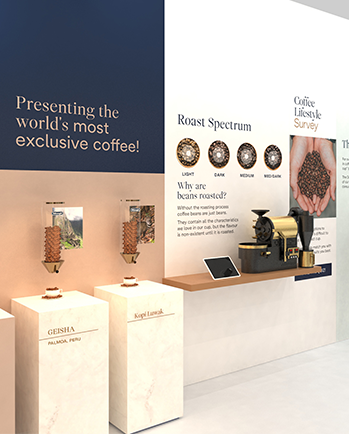 Live coffee advisors and experts