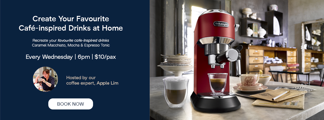 De'Longhi Online Class - Create Cafe Inspired Drinks At Home with De'Longhi