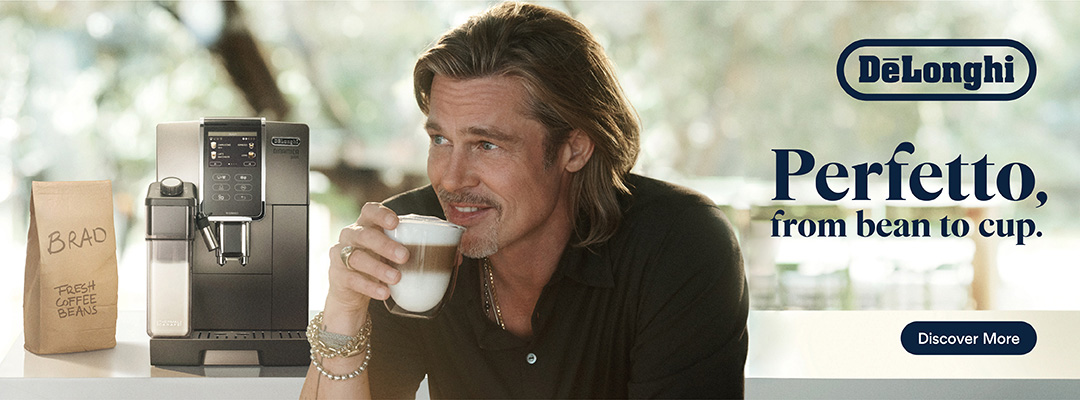 Introducing our Global Brand Ambassador - Brad Pitt - Perfetto Bean To Cup