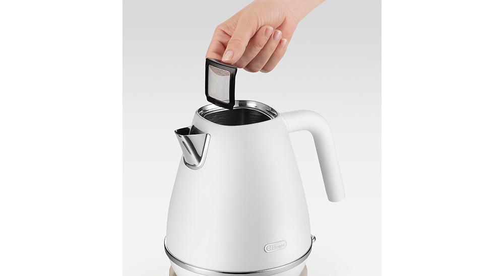 delonghi distinta moments kettle kbin2001 water filter
