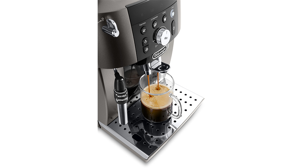 delonghi fully automated coffee machine magnifica s smart ecam.250.33.tb tubeless technology