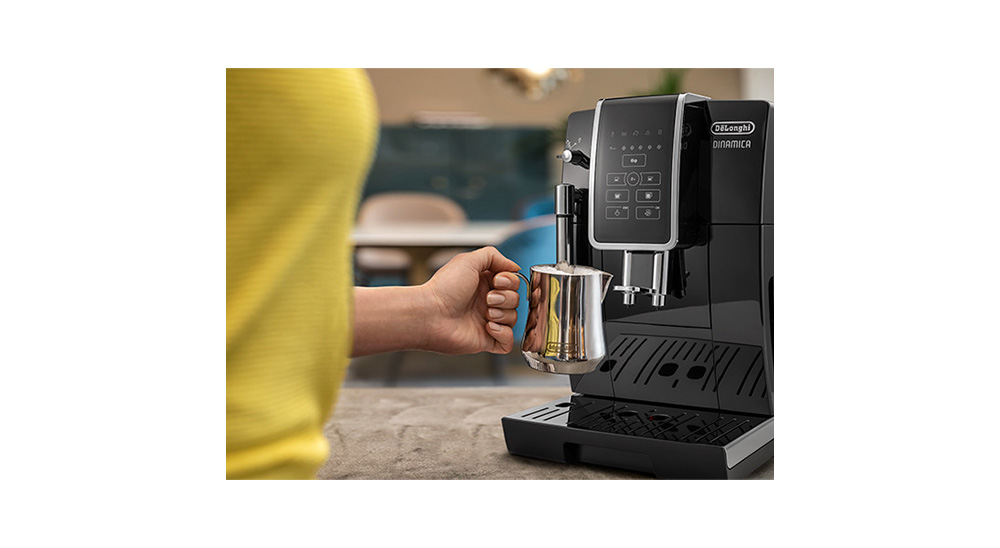 Delonghi Dinamica facm ecam350.15.s fully automatic coffee machine fixed cappuccino system