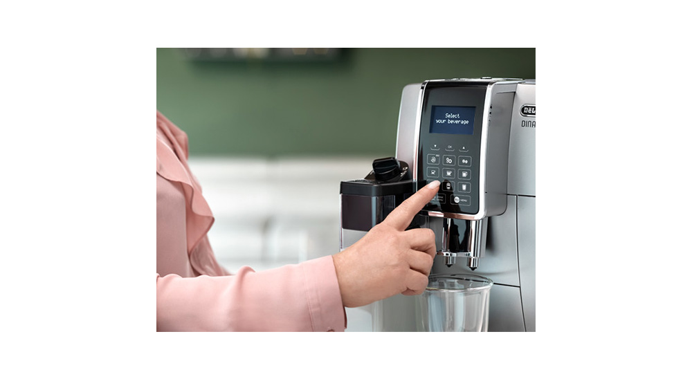 Delonghi Dinamica plus facm ecam370.95.t fully automatic coffee machine one-touch