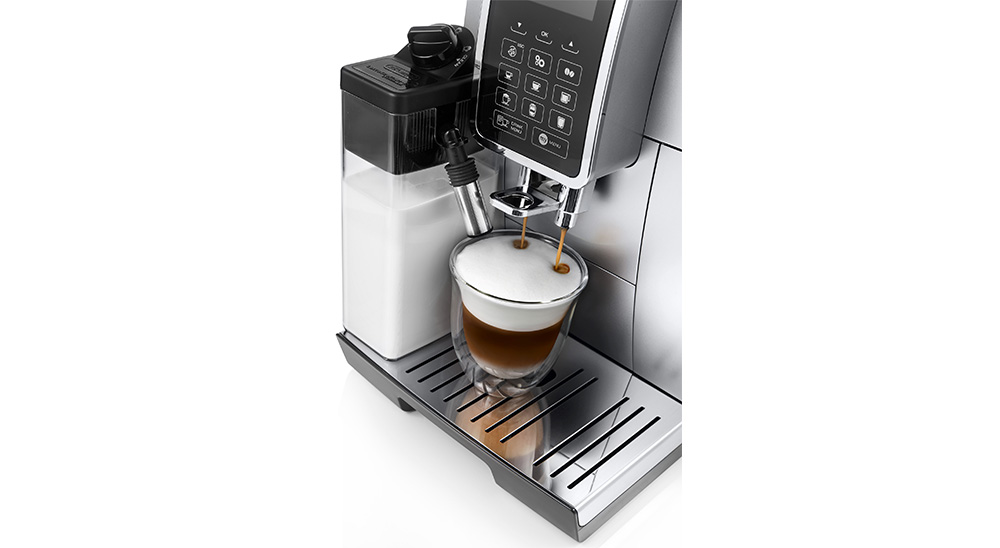 Delonghi Dinamica plus facm ecam370.95.t fully automatic coffee machine mymenu