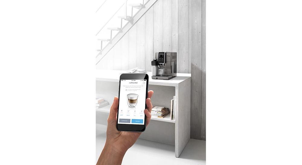 Delonghi Dinamica plus facm ecam370.95.t fully automatic coffee machine coffee link app