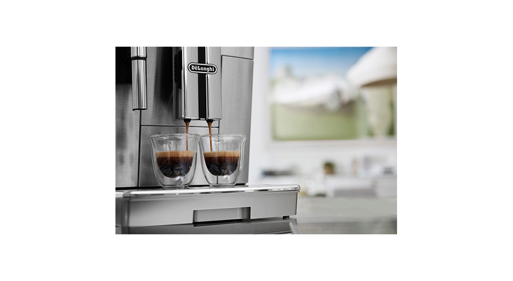delonghi primadonna s evo ecam510.55.m fully automated coffee machine twin brewing cycle