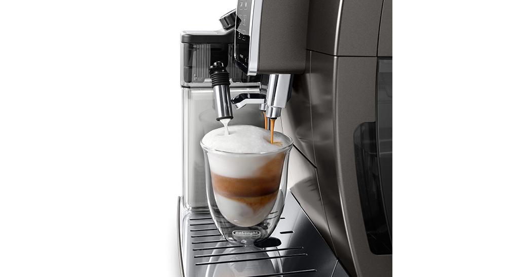 delonghi fully automatic coffee machine core technology lattecrema system