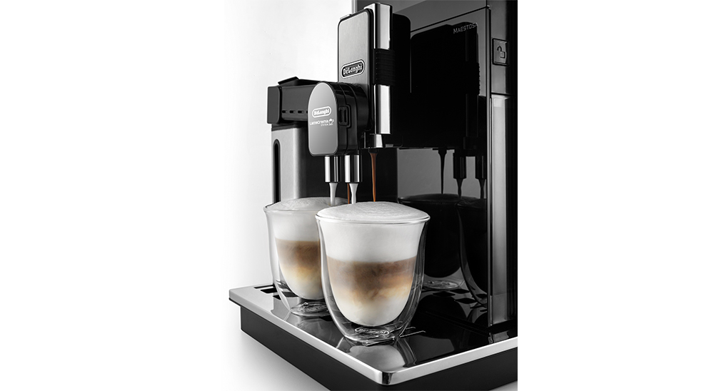 delonghi fully automatic coffee machine maestosa lattecrema system