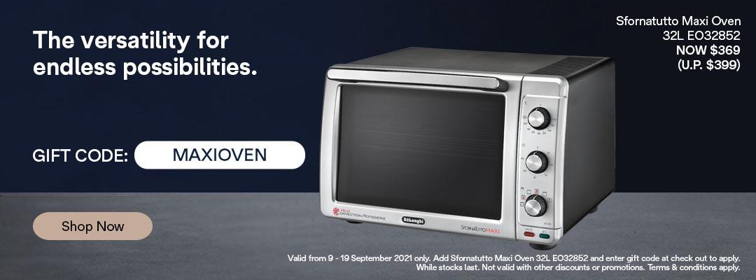 De'Longhi 9.9 Special - Receive $30 off Sfornatutto Maxi Oven